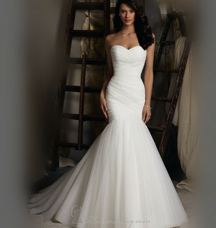 Женские свадебный платья