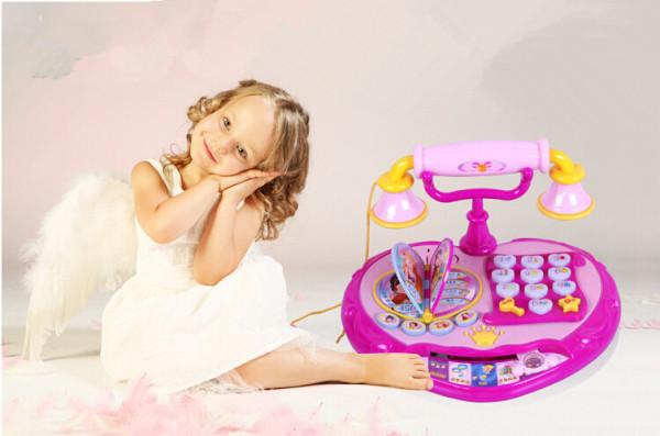 Новинка-детский-телефон-игрушка-ребенок-мобильный-телефон-автомобиля-мобильный-телефон-телефон-розовый-пластиковых-игрушки-музыка-игрушки
