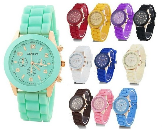 16-colors-Shadow-Rose-Gold-Colored-style-geneva-watch-rubber-candy-jelly-fashion-unisex-silicone-quartz